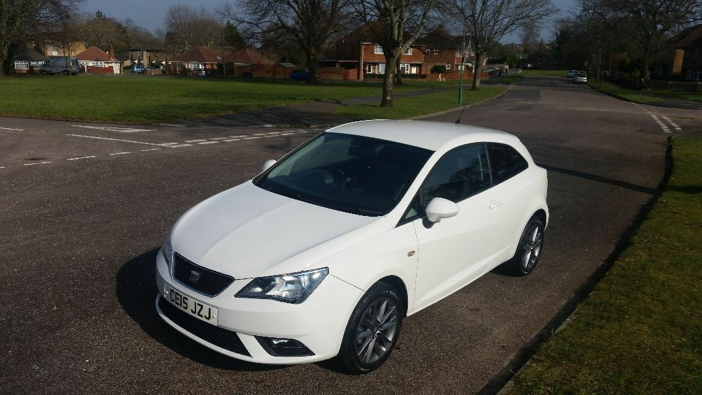 2015 (15) Seat Ibiza iTech 1.2 TSI petrol, manual only 8500 miles from new