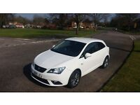 2015 (15) SEAT Ibiza ITECH 1.2 TSI SportCoupe ONLY 7000 Miles SATNAV 3 Months Warranty FREE Delivery