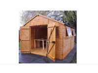 Garden shed 12ft x 10ft Winchester nearly new