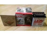 Lion LB12A-12 12v12AH Motorcycle Battery Motorbike Battery