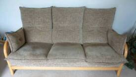 Three piece suit - three seater sofa and two armchairs