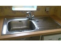 Free second hand stainless steel sink
