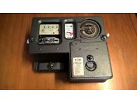 electrical / electricity £1 slot coin meter