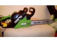 Petrol chainsaw Handy spairs or repairs
