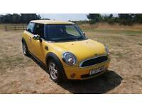 Mini one 2007 years mot 6 speed history 1.4cc cheap car Kent bargain
