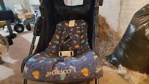 Preowned Navy Blue Grako 1 Child Stroller