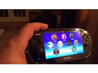 Ps vita on 3.63. Various accessories available