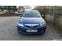 Mazda 6 TS 2.0 Petrol 2006 Blue Cheap Low Mileage Good Runner