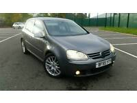 55 REG VW GOLF 2.0 GT TDI MK5 6 SPEED BARGIN!!!