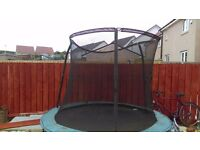 Eight foot trampoline