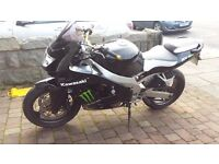 1998 KAWASAKI ZX9R BLACK MOTED JULY 2017 RECENT SERVICE TYRES CHAIN / SPROCKETS CAN DELIVER MAY P/X