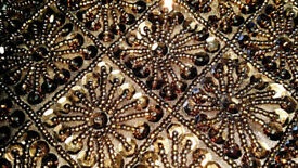 HANDBAG Sequin Beaded – Evening Wedding Party Clutch Purse – like new
