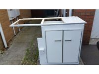 Vw t25, side unit, hob, sink etc