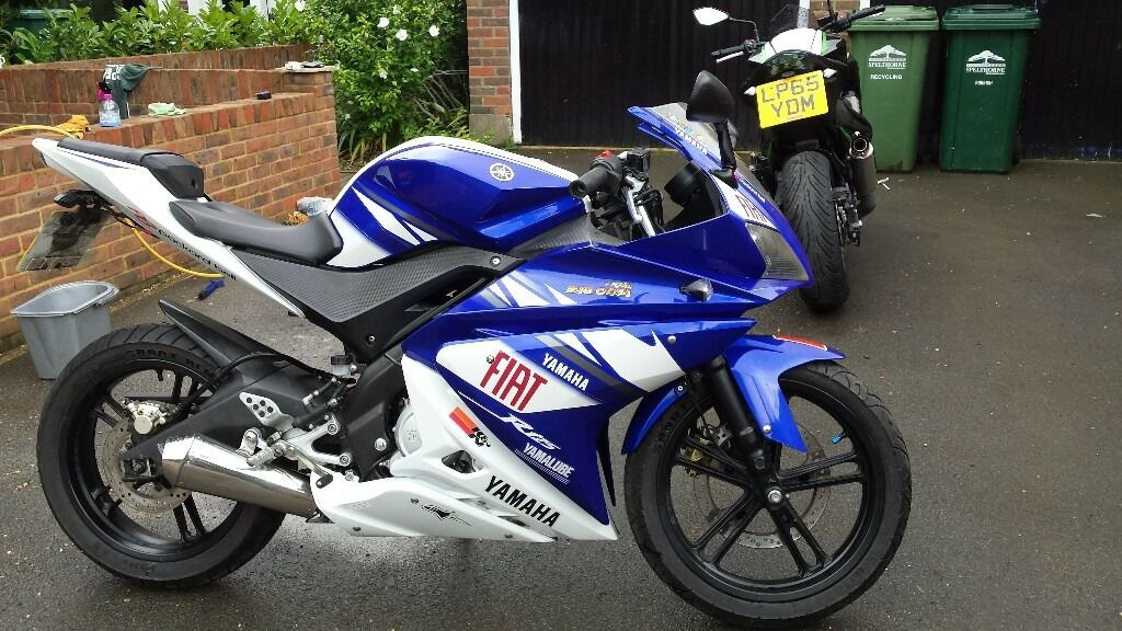 yamaha yzf r125 with malossi 180cc kit in staines upon thames surrey gumtree. Black Bedroom Furniture Sets. Home Design Ideas
