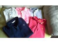 5 Boys Polo shirts
