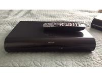 Sky + HD 2TB box with controller and viewing card
