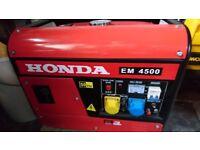 Honda EM4500 Generator