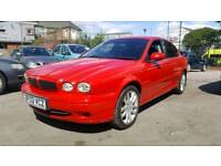 Jaguar X-Type V6 Sport 2.1 Rare Collectors Red * CLEAN EXAMPLE *