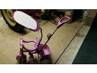 Little tikes push trike