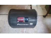 200w Pioneer Sub Woofer with built in amp