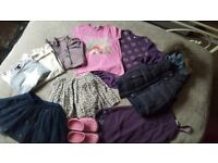 Bundle of girl clothes 6-7 years