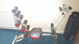 Ab warrior total body gym and body plank ,hardly used , excellent condition .