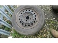 "Toyota yaris 15"" steel wheels"