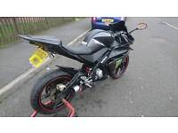 Yamaha Yzf r125, excellent condition, HPI clear, delivery available