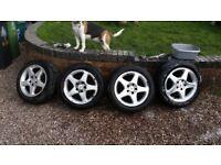 "5 x 112 mercedes alloy wheels for c class 26"" w203"