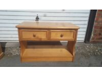 2 draw unit £5 bedside table £5