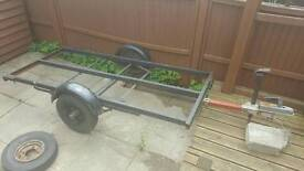 motorcycle trailer project