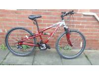 Apollo FS26 bike 14 inch aluminium. 21 speed. Good working condition and ready to ride