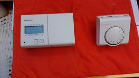 Honeywell programmer and Roomstat