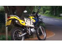 2006 125 cc off road on road nice bike tel john 028 3884 06 68