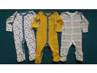 *REDUCED* £1 each! 12-18 months Baby Clothes - Sleepsuits Boys / Girls / Unisex