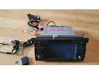 BMW 3 series, Genuine Car Stereo DVD Player GPS Sat Nav Radio