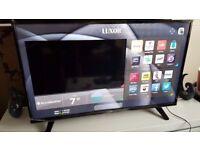 LUXOR 43 TV SUPER Smart HD TV,built in Wifi,Freeview HD, NETFLIX.