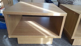 TV stand / side table (small) - oak effect