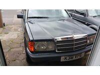 Classic Mercedes 190e 2.0