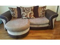 3 and 2 Chaise DFS sofa as new