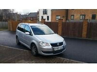 2007 FACELIFT VW TOURAN TDI SE HPI CLEAR MINT CONDTION 7 SEATER LOOKS AND DRIVES EXCELLENT BARGAIN