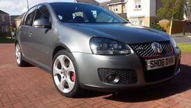 Golf GTI Mk5 DSG Auto +Paddle shift , Leather interior, Sunroof, 5DR, FSH, 79,000,2 Previous owners