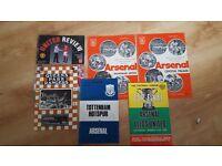 6 Football Programmes. Job Lot