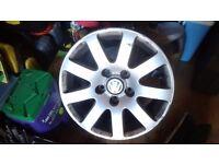 Vw golf/passat alloy wheel