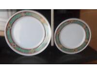 plates cuttlery ect