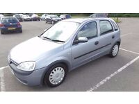 Automatic 2003 Vauxhall Corsa Club 1.2 16V Easytronic 5 Door 61000 Miles Only   Cards Accepted 