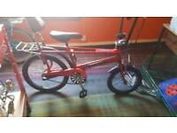 Raleigh Chopper limited edition mk3, The Hot One. Red, flames...
