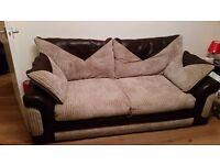 2+3 seater sofas £150
