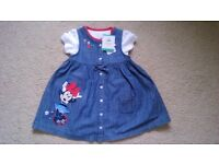 Disney Baby Minnie Mouse Dress For Sale 6-9 months