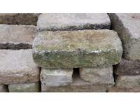 Reconstituted ornamental garden feature bricks